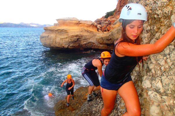 Coastering Mallorca