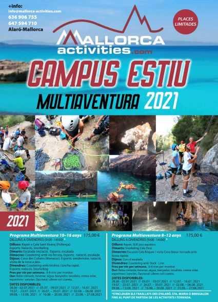 SUMMER CAMP FOR CHILDREN IN MALLORCA – 2021